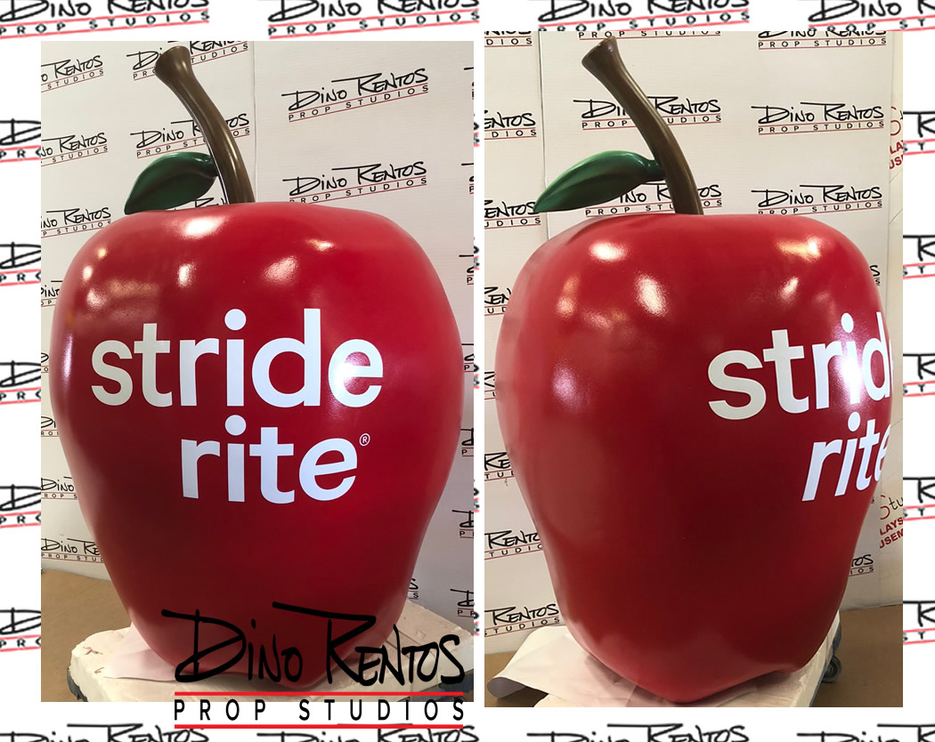 Large Foam Apple Fruit Prop for Tradeshow