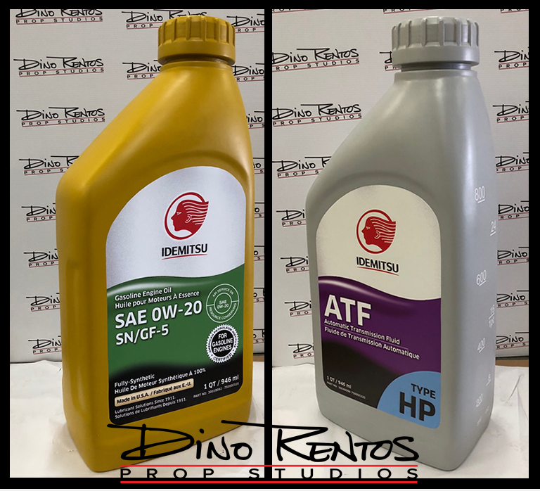 Custom Foam Bottle Product Replica Prop for Tradeshows and Conventions